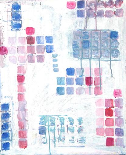 Self-control_ Acrylic on canvas (46x55 cm)