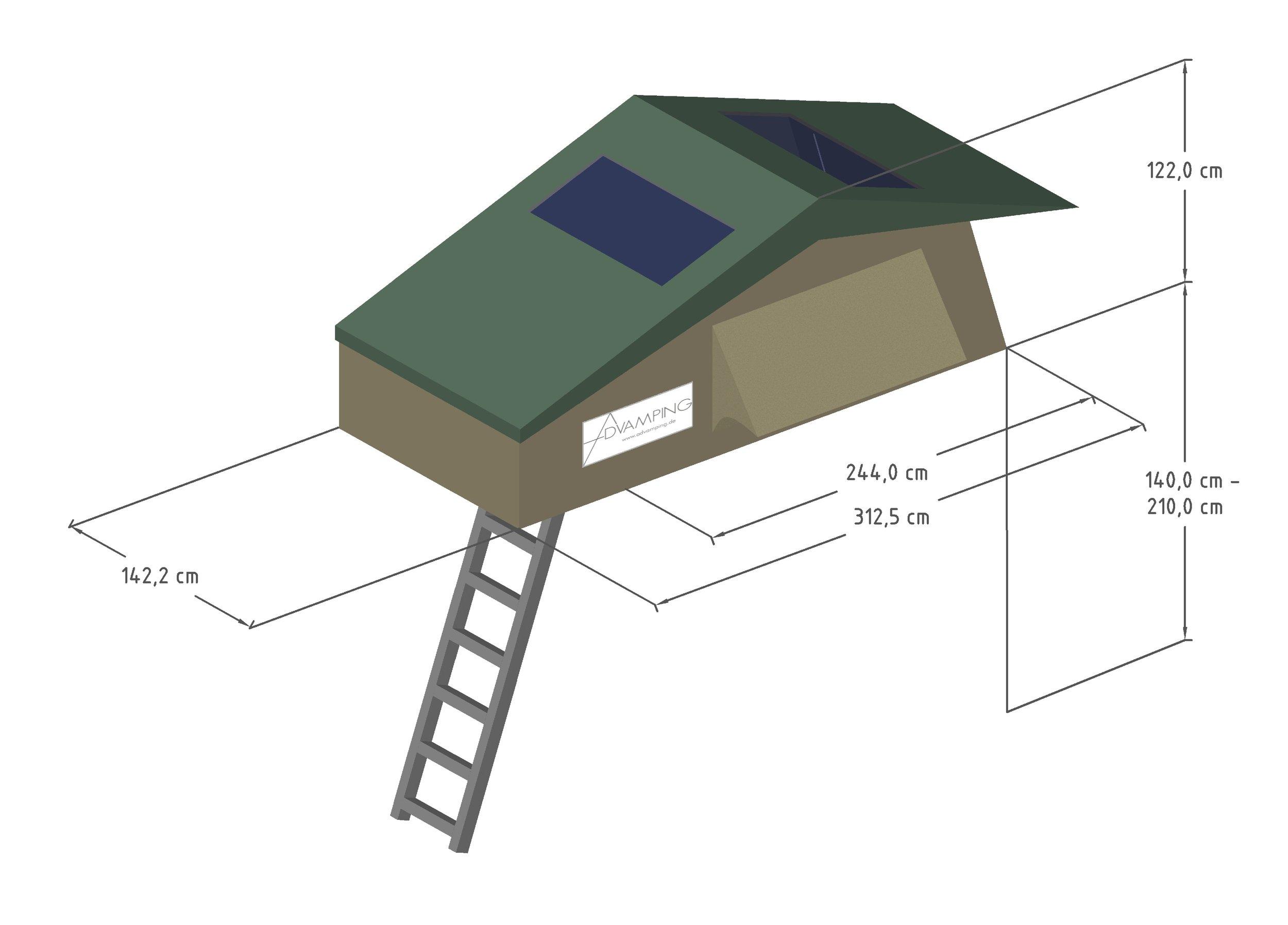 5 Tent Medium 2 sky old fly ohne Annex Beige_old Green.jpg