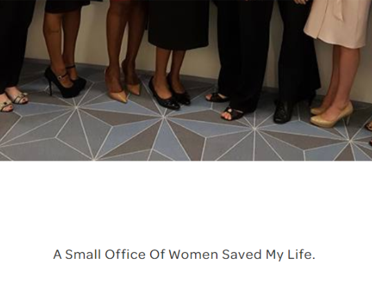 A small office of women saved my life