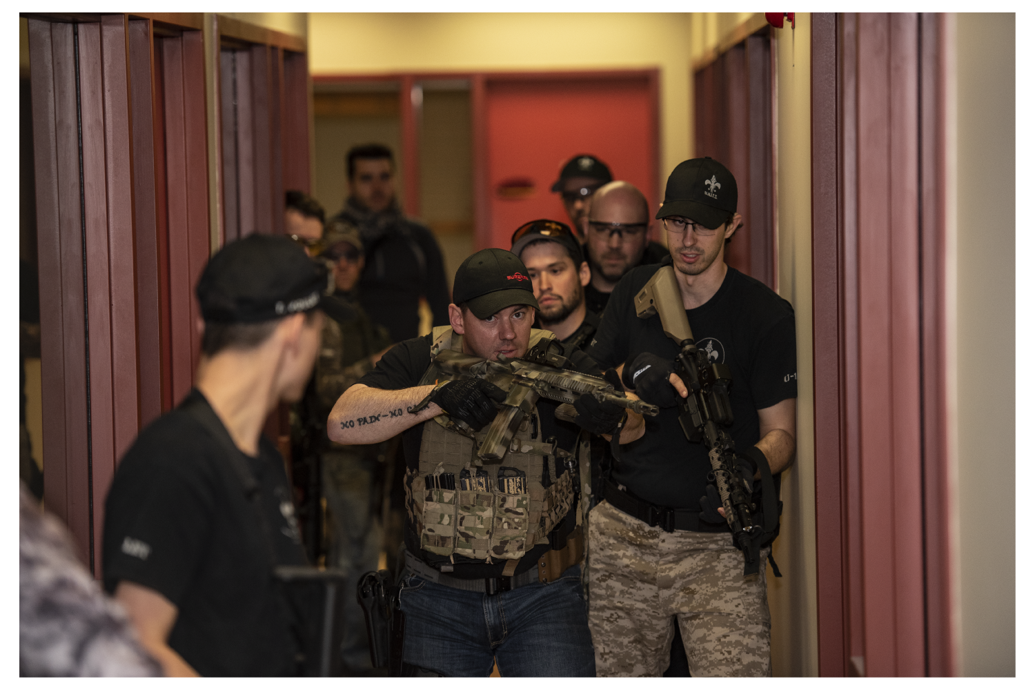 LEVEL 2 - 200 $ CAD1-day course (0800-1630)Push your skills to the limit. Identify and master your weaknesses as a fire team member and become a better asset for your team.Learn advanced tactics to secure the area faster and with more efficiency.Dominate the urban area.