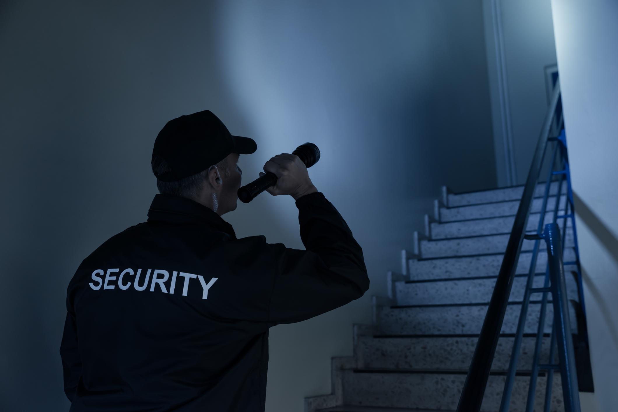 Uniformed security -