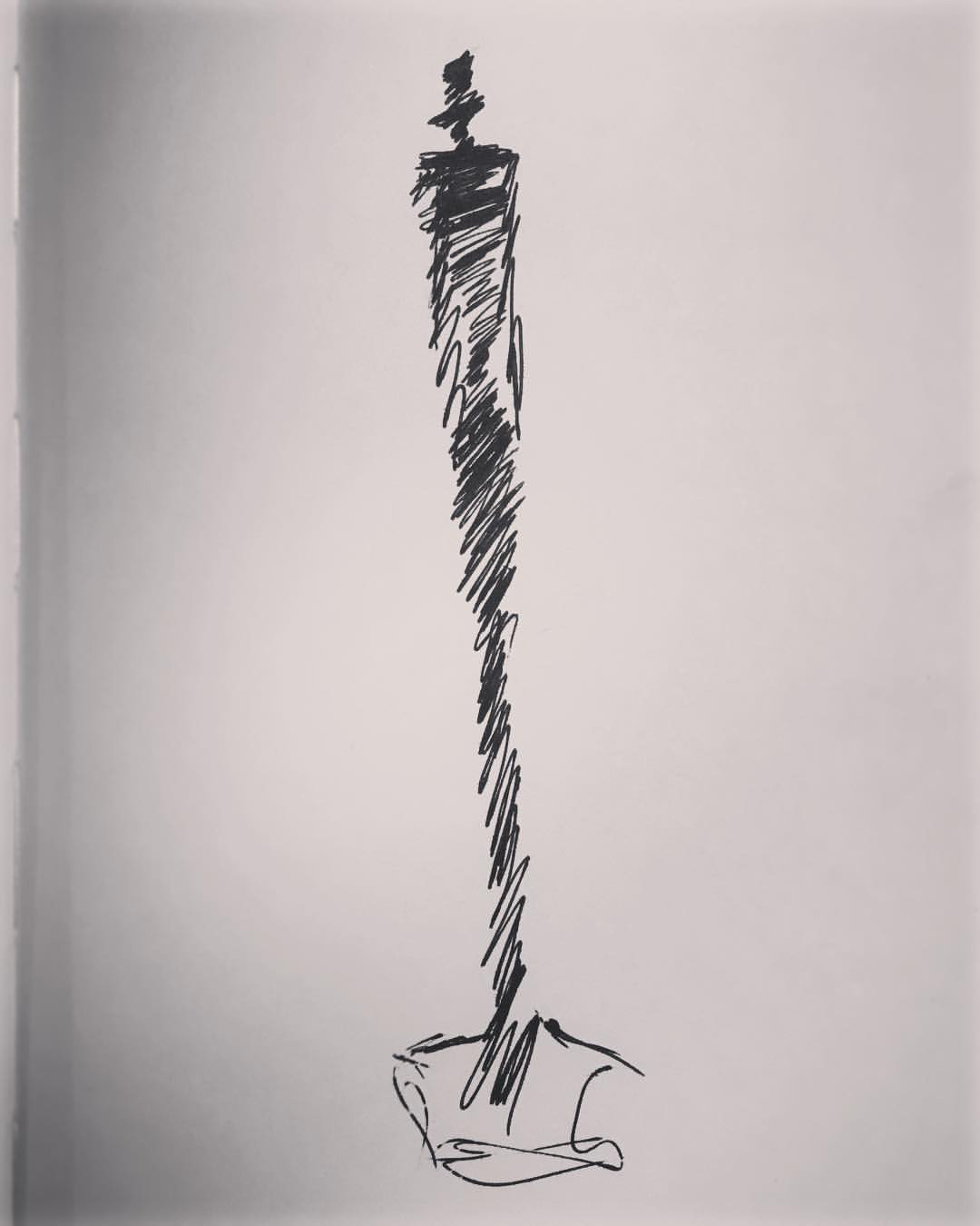 Giacometti Gallery Sketch I