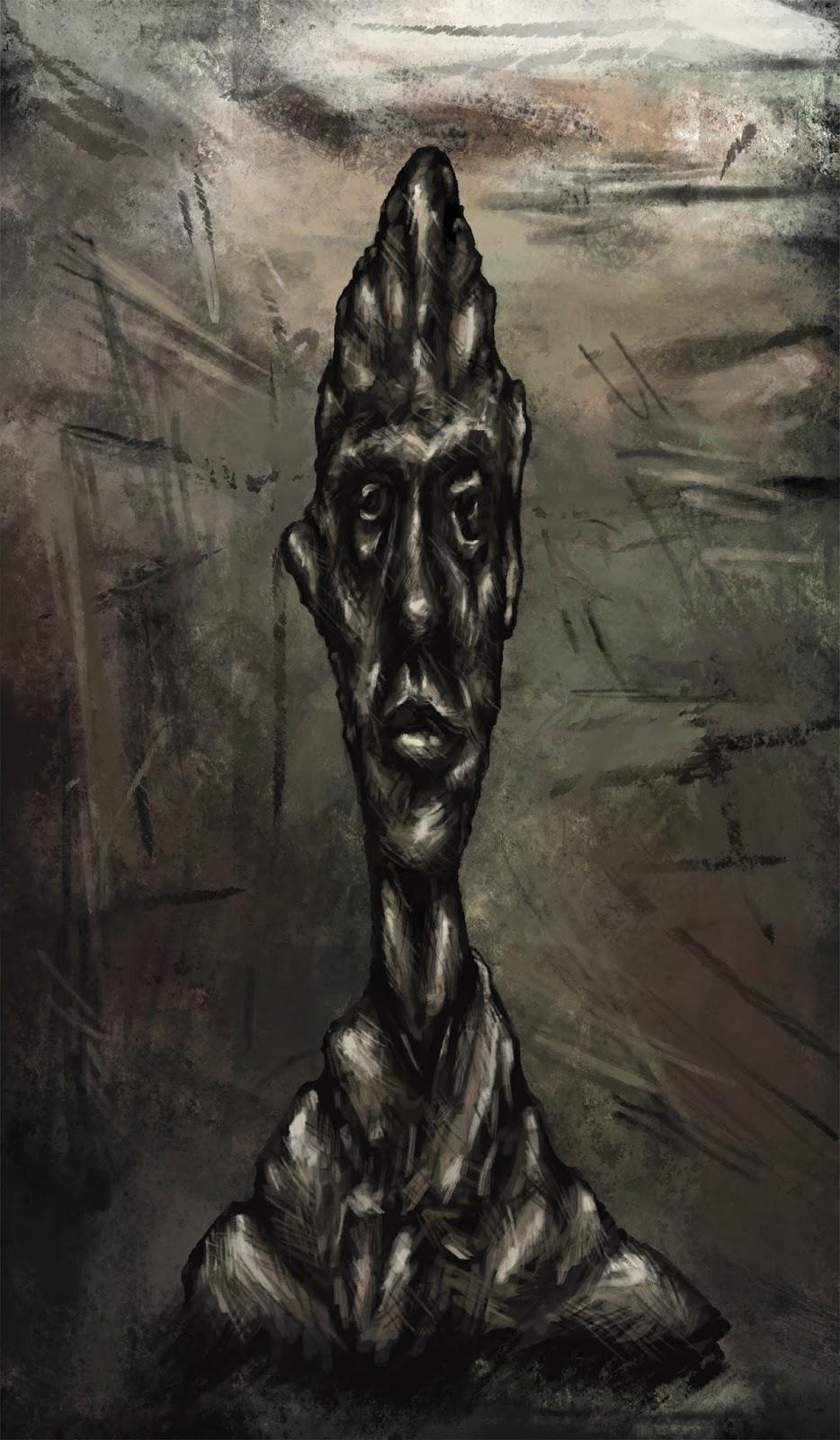 Giacometti Fan Painting