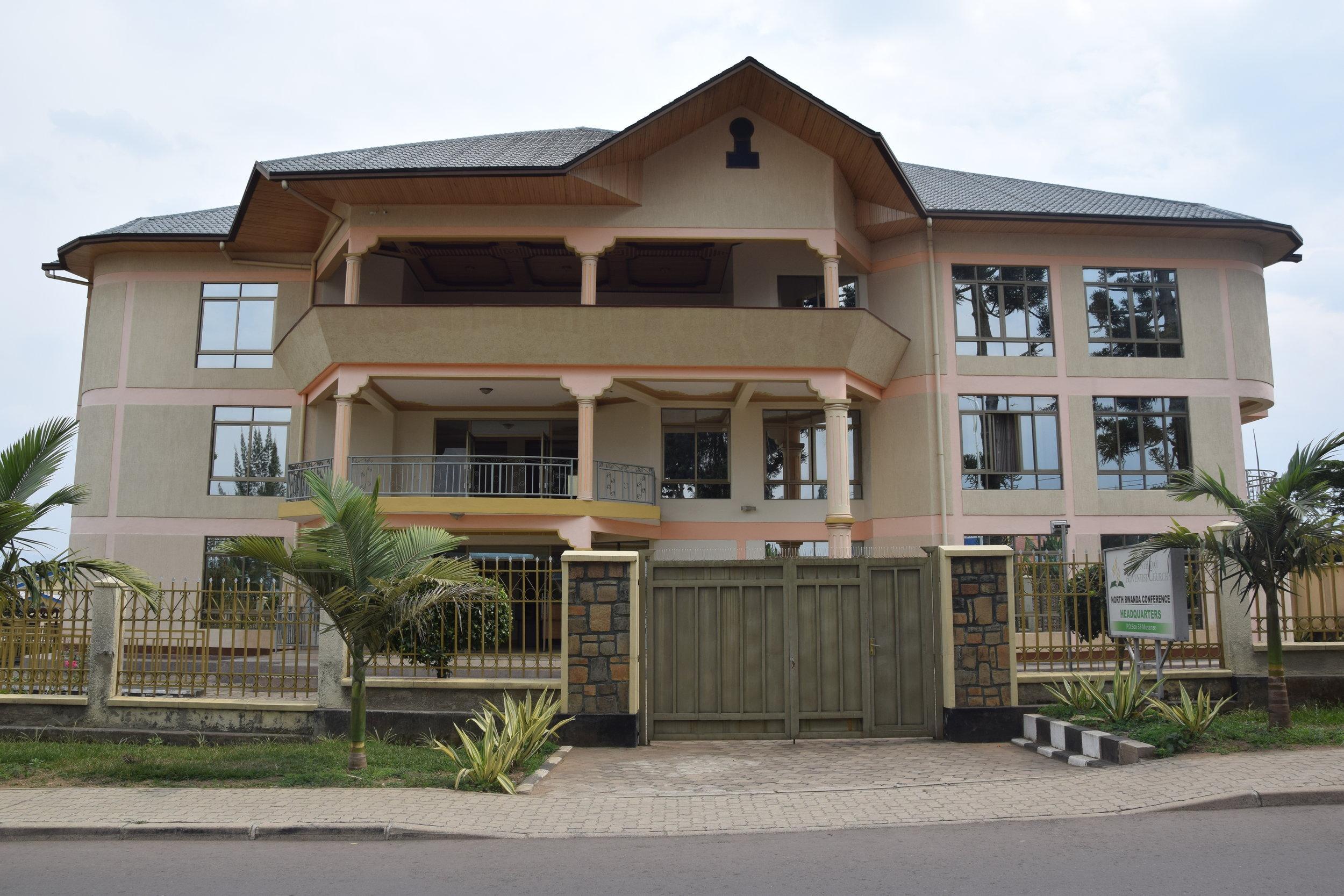 Our office - 2nd Floor, North WingBuilding of 7th Day Adventist ChurchNorth Rwanda Conference HeadquartersAvenue de la CooperationPO Box 118, Musanze, Rwanda