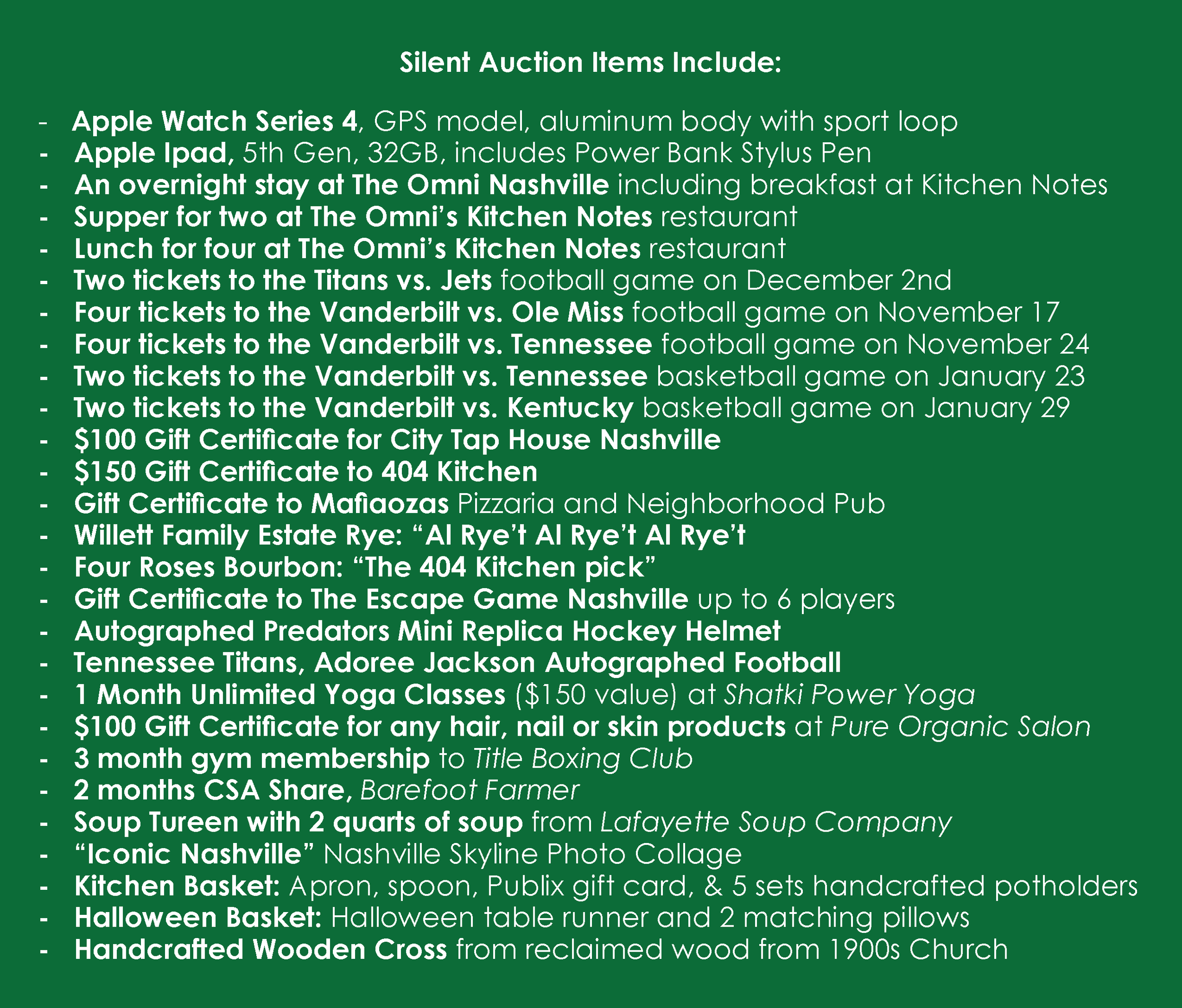 Silent Auction Items 10-18-18.png