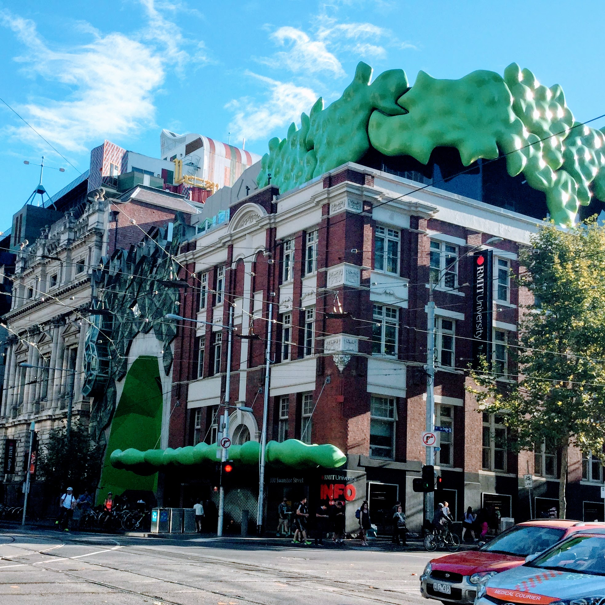 The Green Brain at RMIT where I presented the findings of the research.