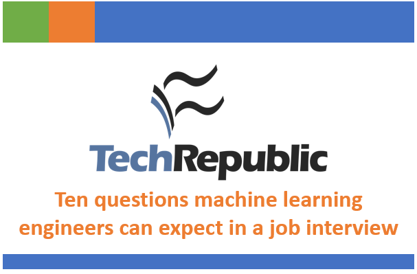 Hear from myself and others about what questions machine learning engineers can expect in a job interview.