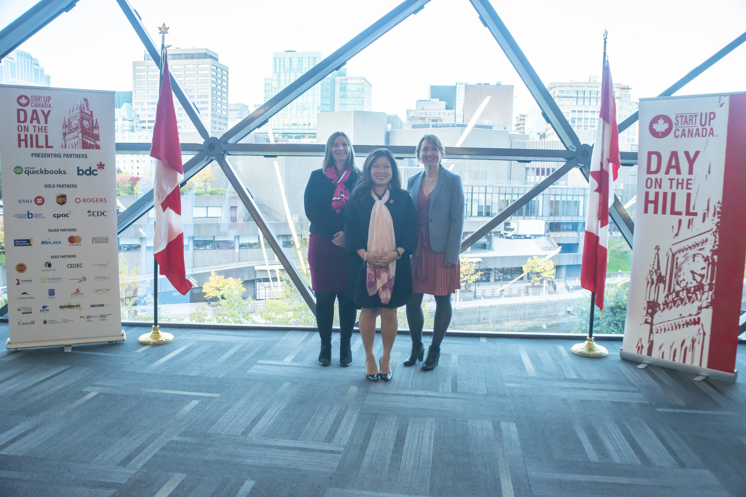 Minister Mary Ng and I at the Startup Canada Awards, where Pure Strategy won an award for top female-led STEM startup.