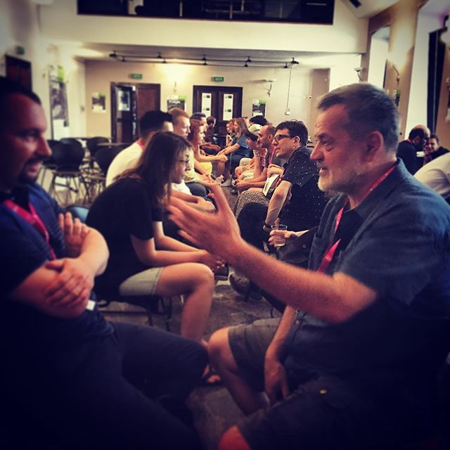 #speedmeetings at the @matchmakingforum #matchmakingforum2018 #brankoschmidt @avvanturamatchmaking @pulafilmfest @seid.serdarevic