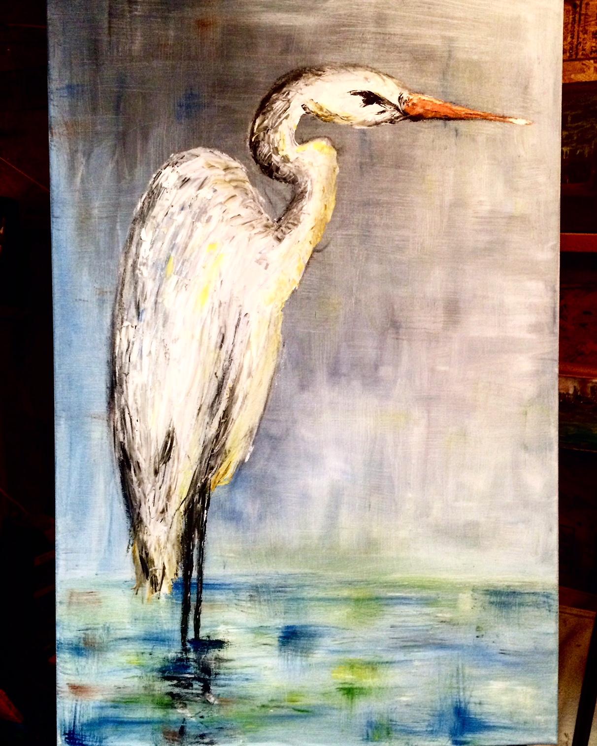 """Great White Egret"""