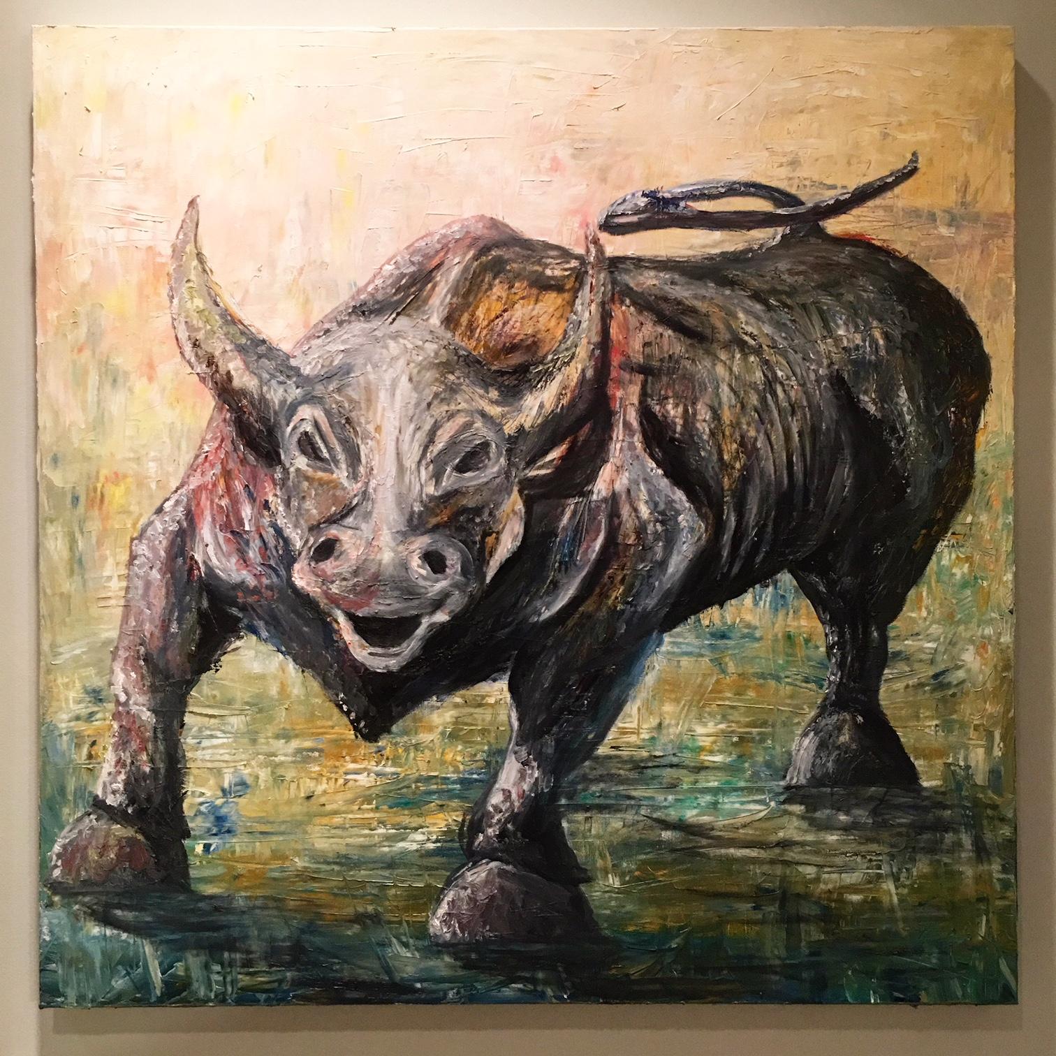 """""""Charging Bull"""""""