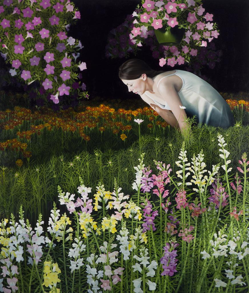 """Marshall Farms      54""""x64""""     2012     oil on canvas"""