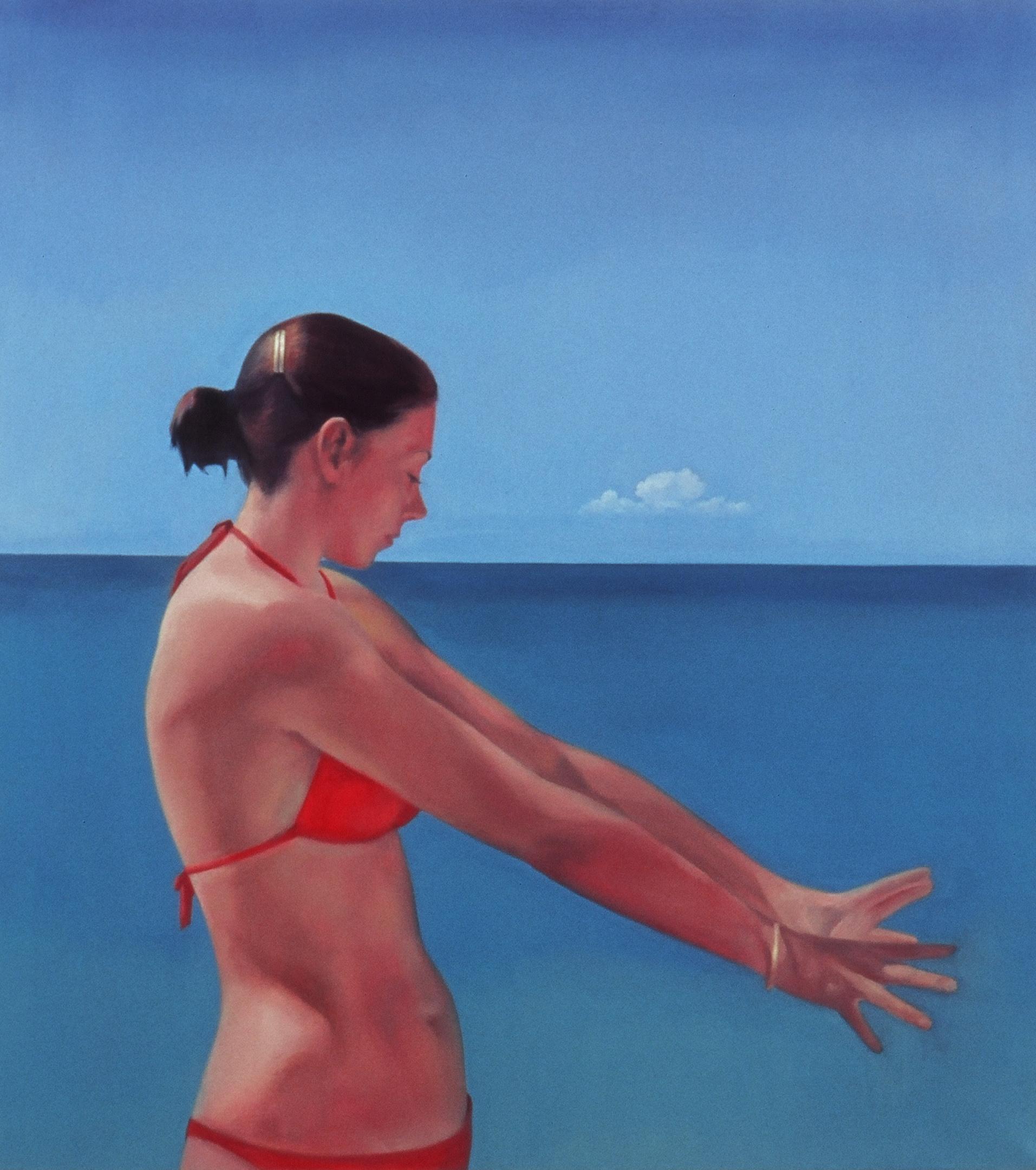 "Summer      32.5""x35.5""     2005     oil on canvas"