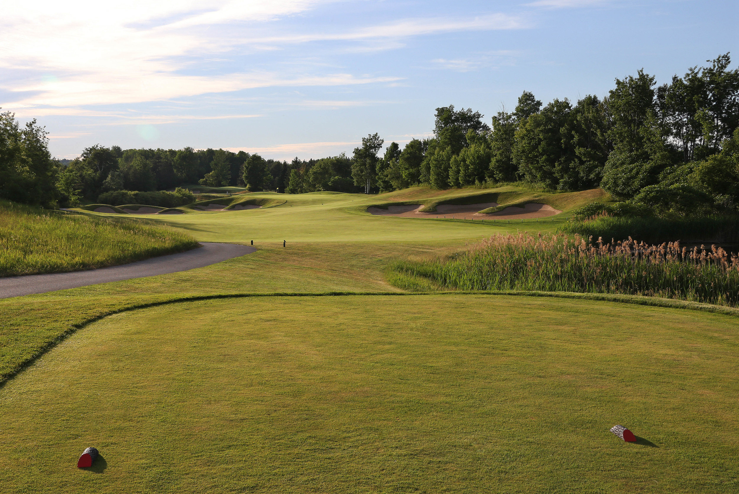 The sixth tee (Photo by Claus Andersen)