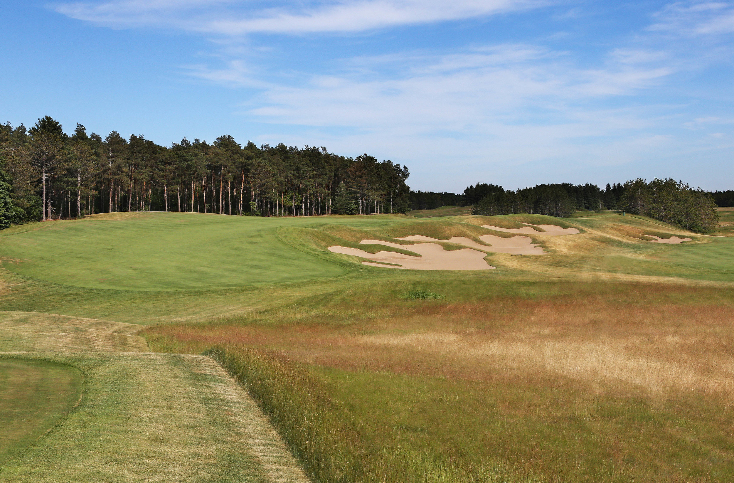 The 18th tee (Photo by Claus Andersen)