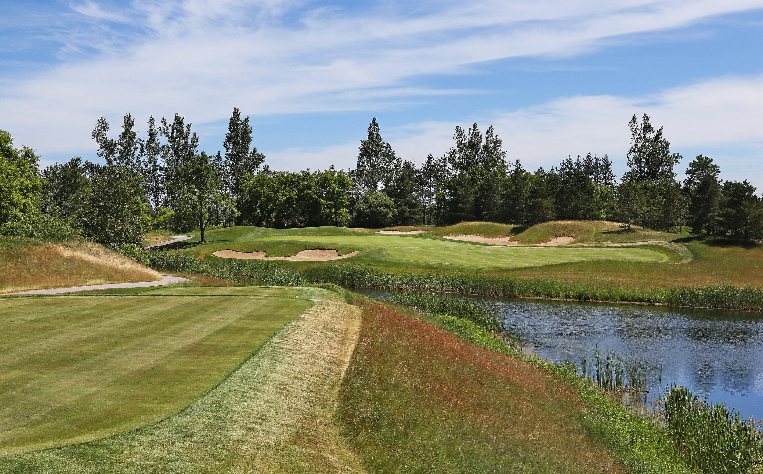 The seventh green (Photo by Claus Andersen)