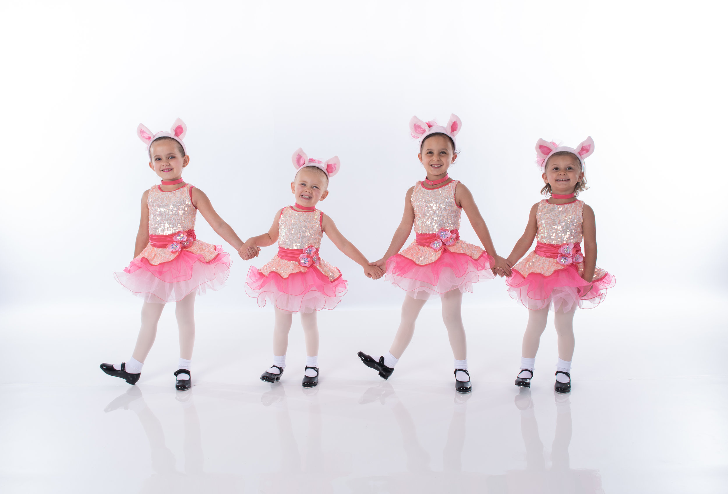 TAP - Tap classes are designed to develop rhythm, style and sound. Students will learn a variety of tap styles from Broadway to Rhythm tap. The class emphasis is on developing proper tap technique, producing clear tap sounds, and having fun.