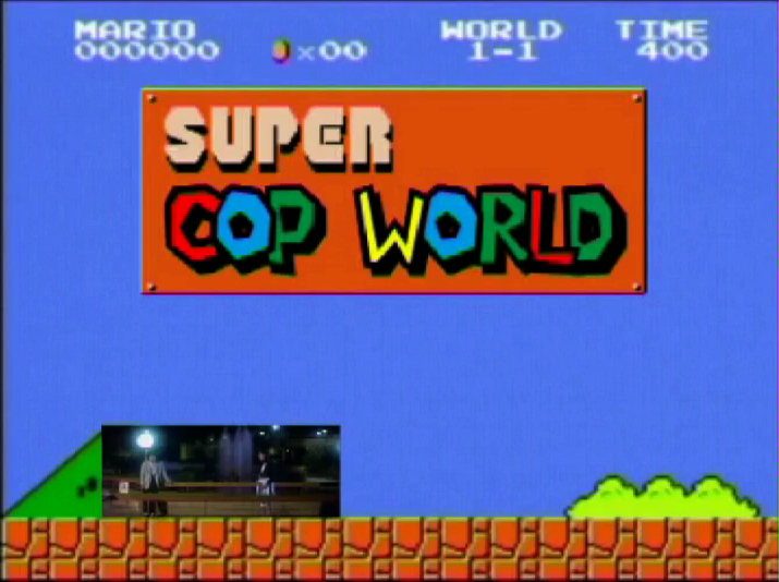 Super Cop World  (2005), video still, courtesy of the artist, special thanks to  Videotage
