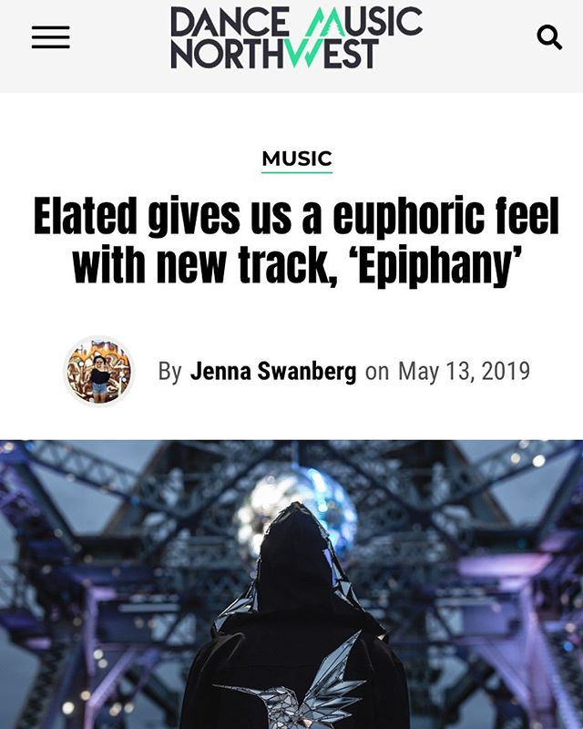 "A round of applause goes to Elated (@wefeelelated) for snagging an exclusive premiere for his new track, ""Epiphany"", in Dance Music Northwest! 👏👏👏 Check out the article on @dancemusicnw. . Elated (aka Graeme) is another one of our PR Bootcamp students. He signed up just last month and has been grinding away at each module, asking excellent questions along the way, and it's already paying off! . Our students have been killing it lately, and we'd love for you to join them! You can register for our DIY Music PR Bootcamp at go.diyprgroup.com. . #PRunplugged #DIYmusicPR #DIYPRgroup #DIYPR #newmusicrelease #newmusicfeature #trancemusic #tranceforever #trancefamily #diymusician #diyartist #indiemusician #indieartist #musicpromo #musicmarketing #wefeelelated #dancemusicnw"