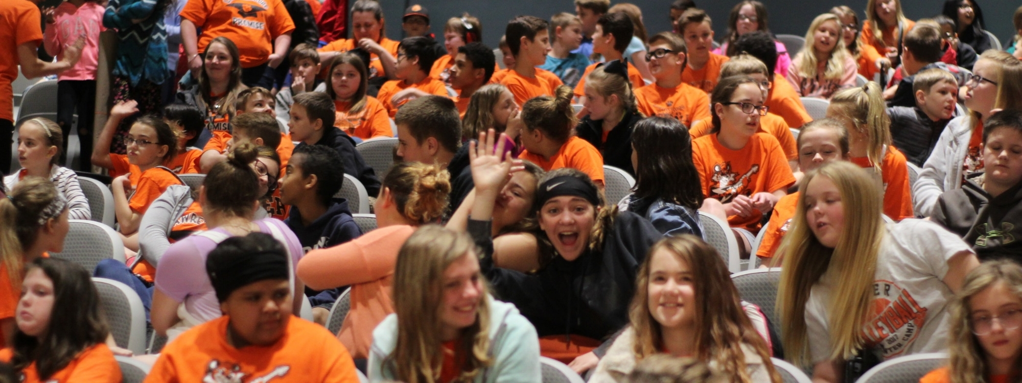 The excitement of Danny Dollar Academy Day at Northern Kentucky University