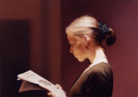 Gerhard Richter,  Lesende , 1994