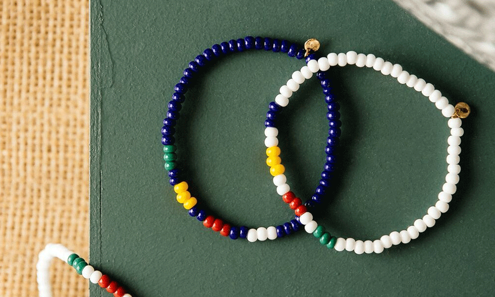 Partnership Support - We teamed up with The Bay to create bracelets that support mental well-being programming, with 50% of the total price going back to support our program.