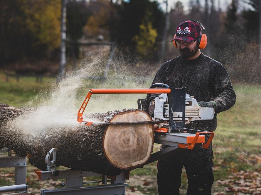 F2 Chain Sawmill -