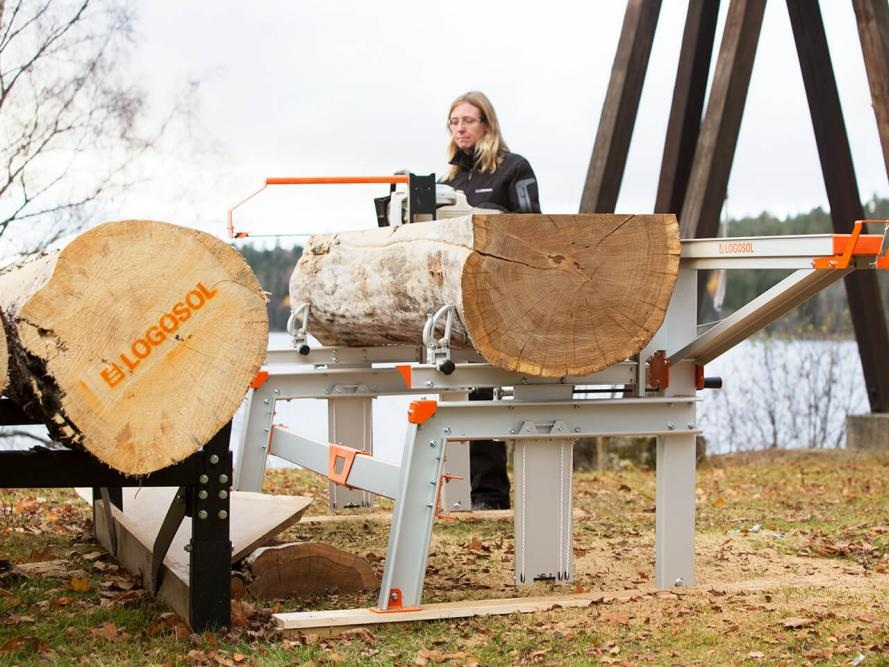 F2+ Chain Sawmill -