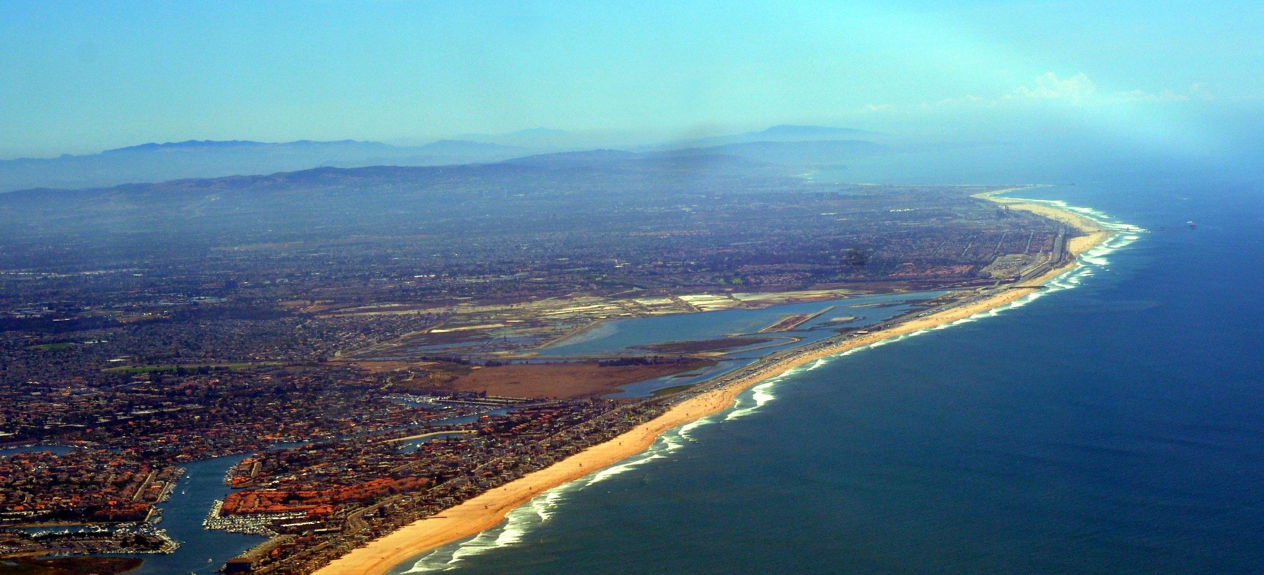 Bolsa Chica Wetlands, Huntington Beach, Orange Co. CA.  Photo by D. Ramey Logan