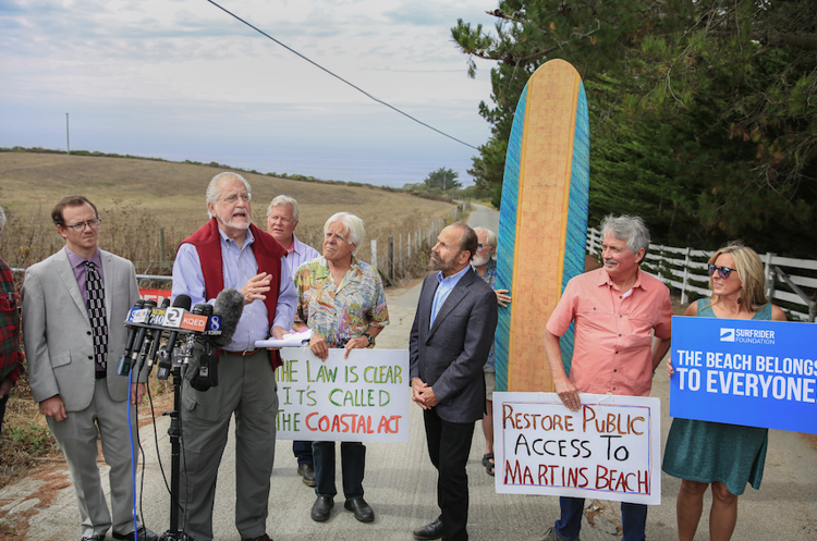 Supreme Court declines to take up Martin's Beach:  Beach access continues, but case likely not over Half Moon Bay Review - Oct 3, 2018