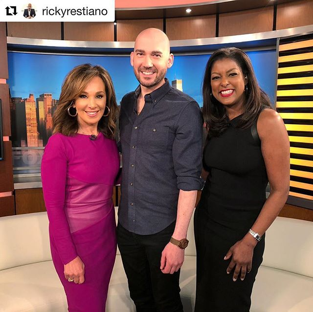 Thank you to @rosannascotto, @loristokes_ and @fox5ny for this incredible opportunity and experience. . . . #rickyrestianophotography #rickyrestiano#weddingphotographer#westchesterweddings #nywedding#photography #photoshoot#photographer #photo #bride #brides #groom#love #photooftheday#weddinginspiration #strictlyweddings #weddingdream #weddingdiary#gooddaynewyork#fox5ny
