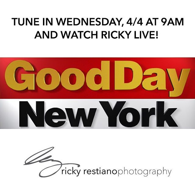 We have been honored and privileged to photograph the most beautiful and fun loving couples over the past 28 years in the tri-state area; with all of that experience, I have been asked by @rosannascotto and Good Day New York to share that with their viewers. Tune in at 9am on Wednesday and watch me live! 😍 . . . #rickyrestianophotography #rickyrestiano#weddingphotographer#westchesterweddings #nywedding#photography #photoshoot#photographer #photo #bride #brides #groom#love #photooftheday#weddinginspiration #strictlyweddings #weddingdream #weddingdiary#gooddaynewyork