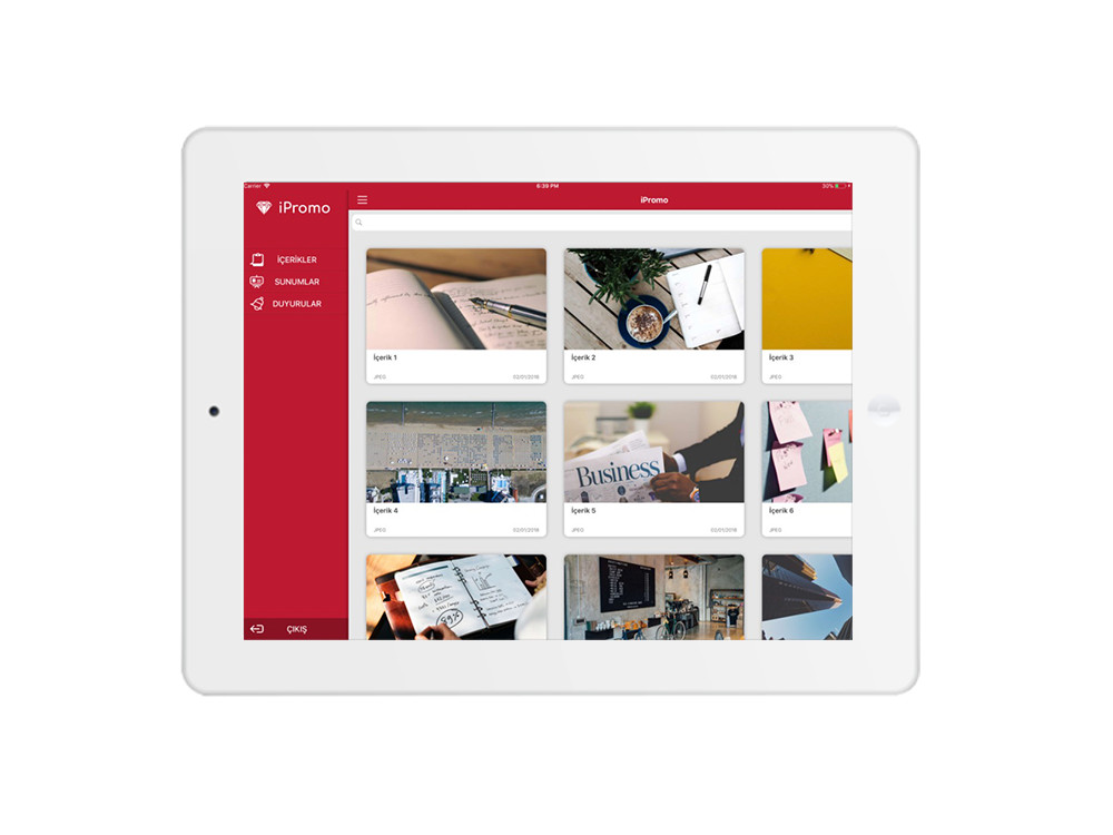 Contentmanagement tool - Empower your sales and promotion teams on the go, with all your content, on all devices