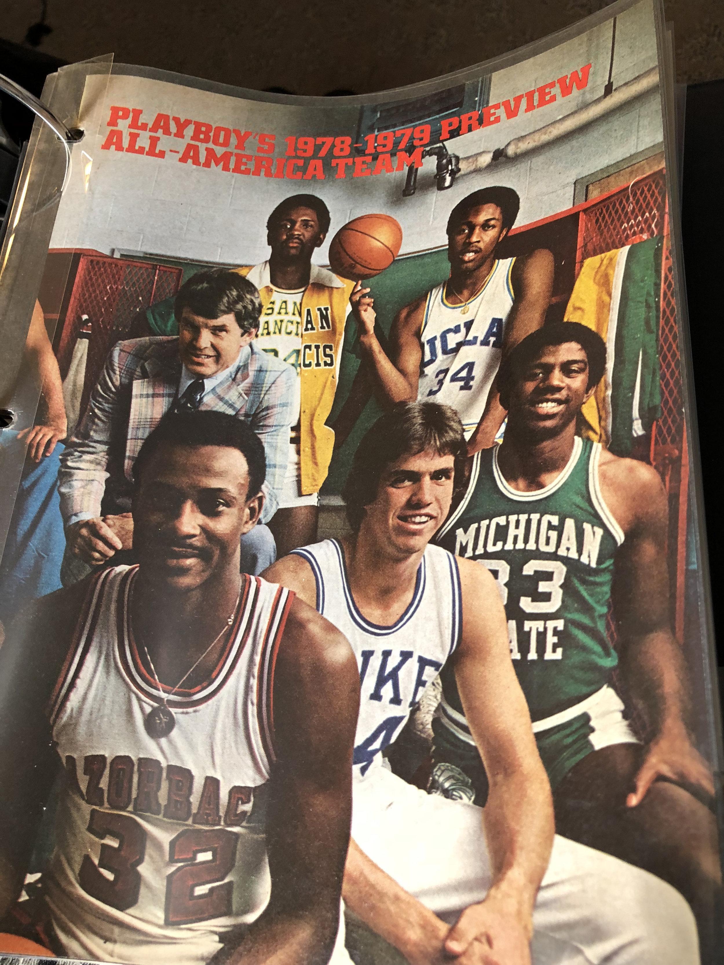 Playboy's 1978-1979 All-American Team