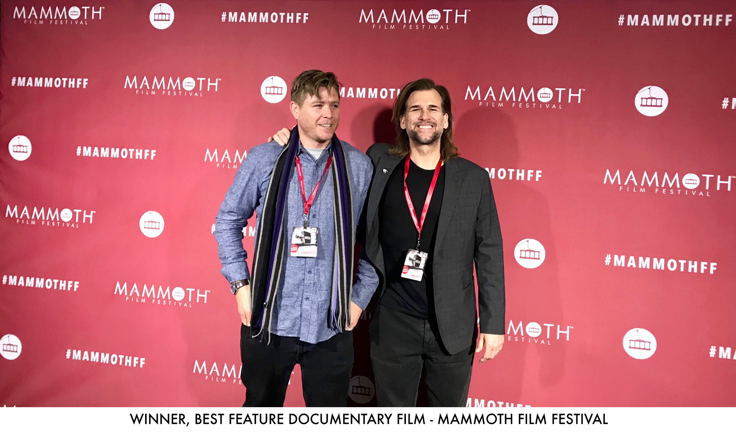 WINNER: BEST FEATURE DOCUMENTARY, 2019 MAMMOTH FILM FESTIVAL