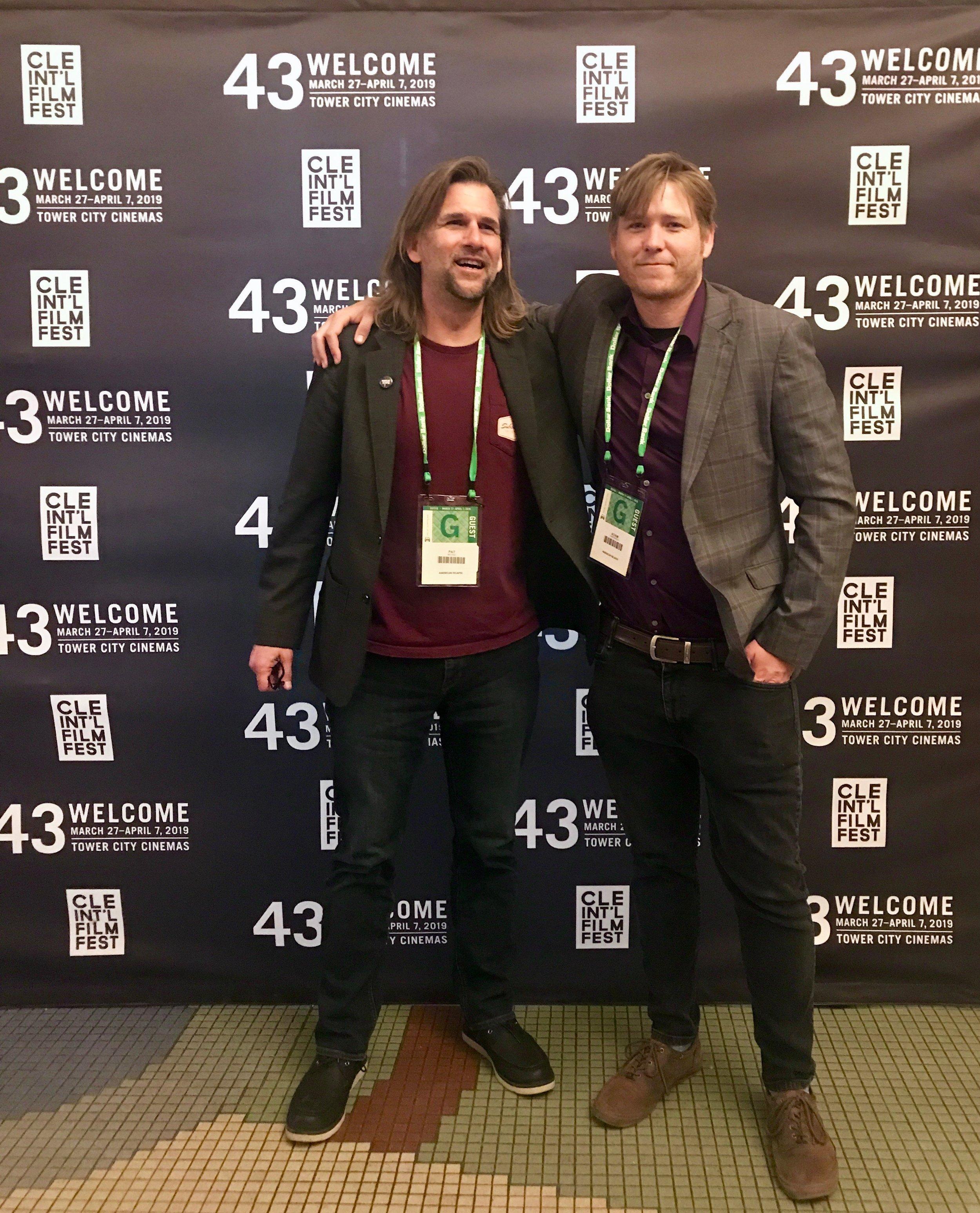 Pat McGee and Adam Linkenhelt Cleveland International Film Festival