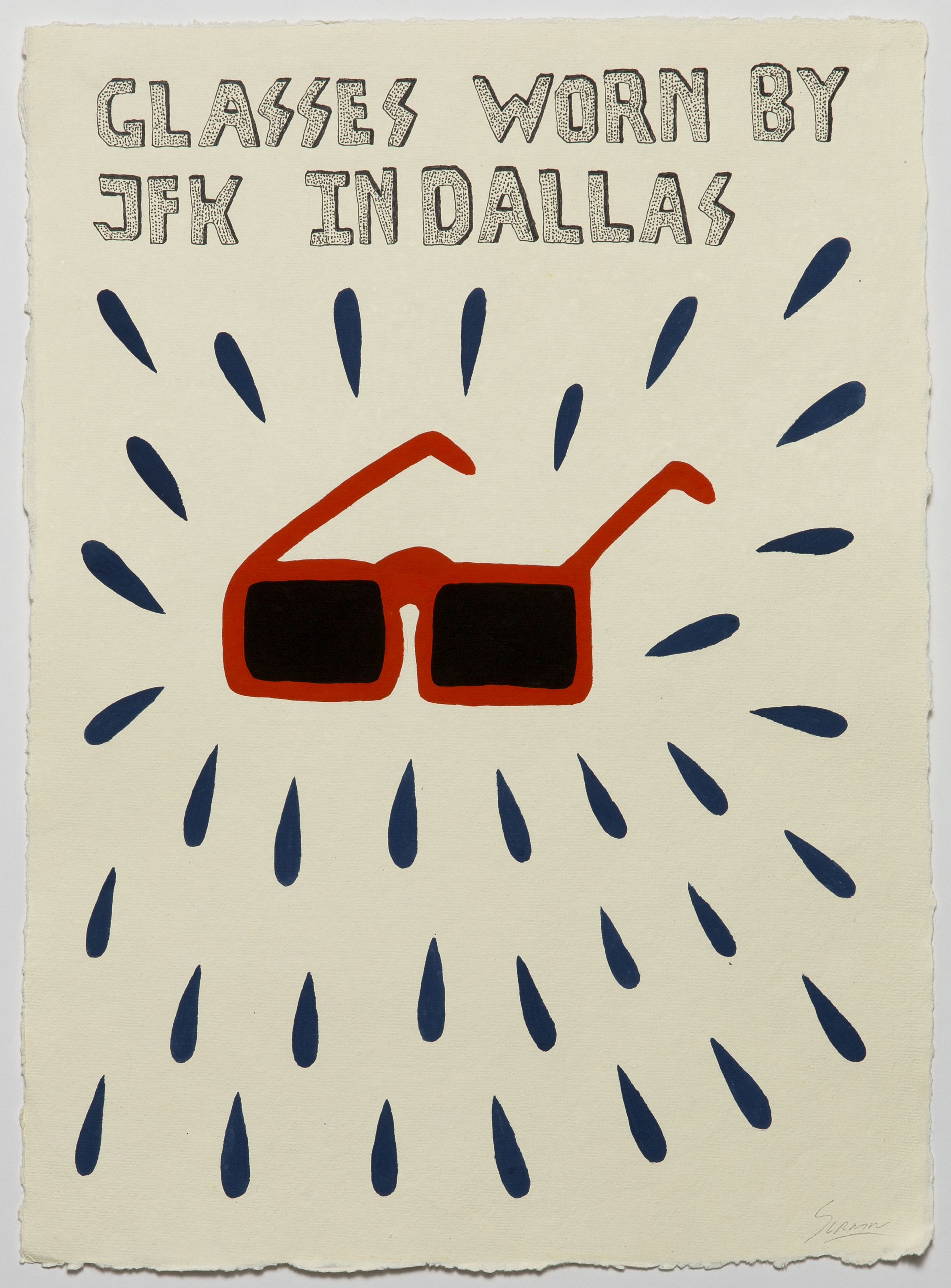 Glasses Worn By JFK in Dallas