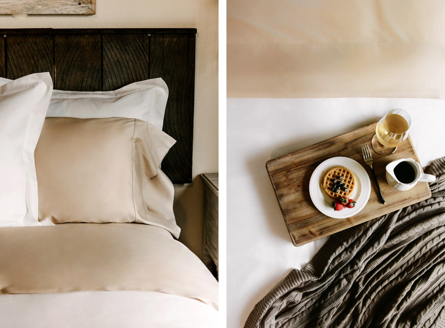 Boll & Branch Bedding // New Dune Color Sheet- Kandis Marino Photography©