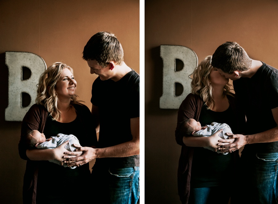 Baby Ezekiel Bekkering // The Bekkerings Newborn Session- Kandis Marino Photography©
