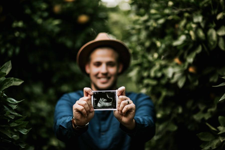 Collin + Jenni // Pregnancy Annoucement-Kandis Marino Photography©