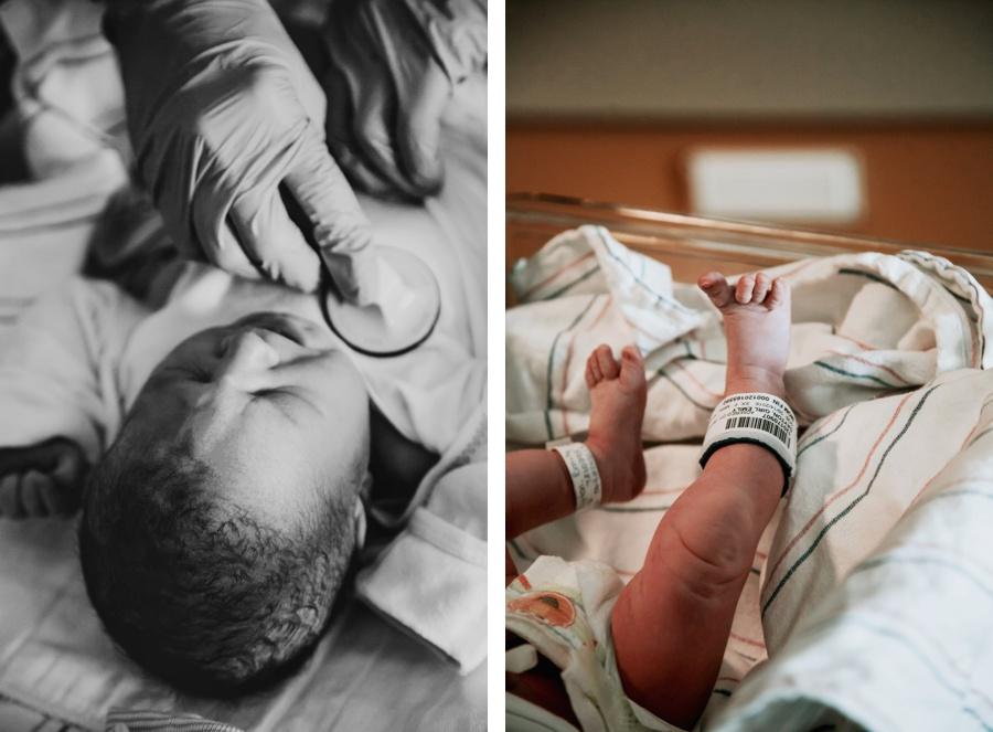 Meeting Ainsley // The Dayton's Hospital Story-Kandis Marino Photography©