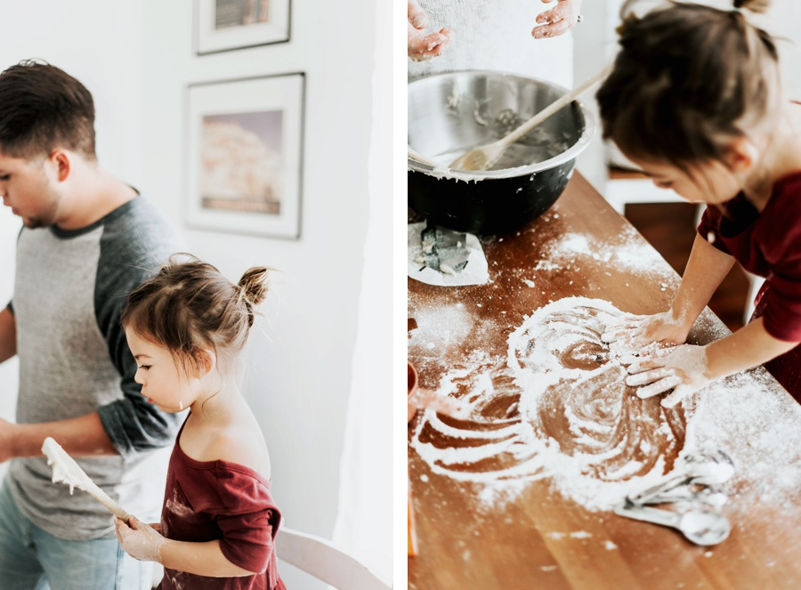The Vargas Family // In Home Maternity Session- Kandis Marino Photography©