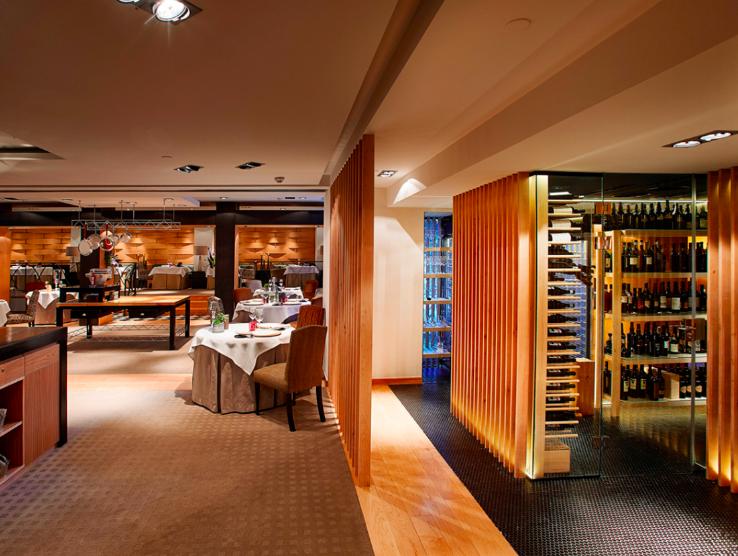 SANTCELONI  · MADRID · lujo y placer culinario con 2 estrellas michelin