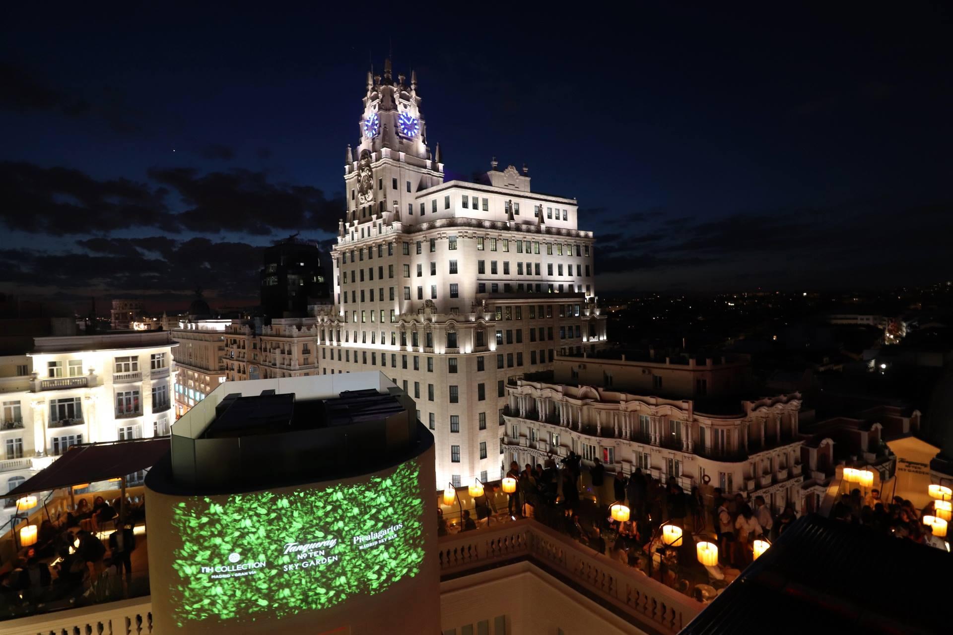 azotea grupo  · madrid · sky bars EXCLUSIVOS en el centro de la ciudad