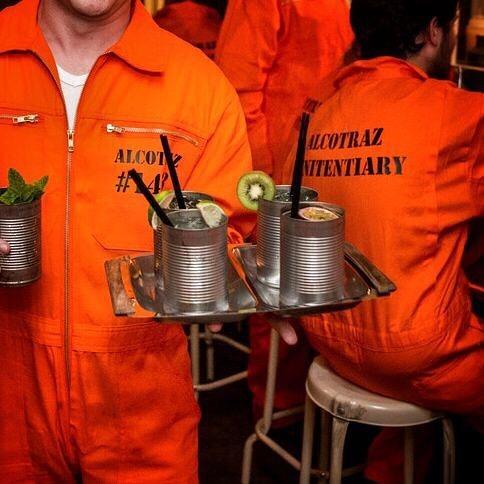 alcotraz  · londres · bar de cócteles en… ¡la cárcel!