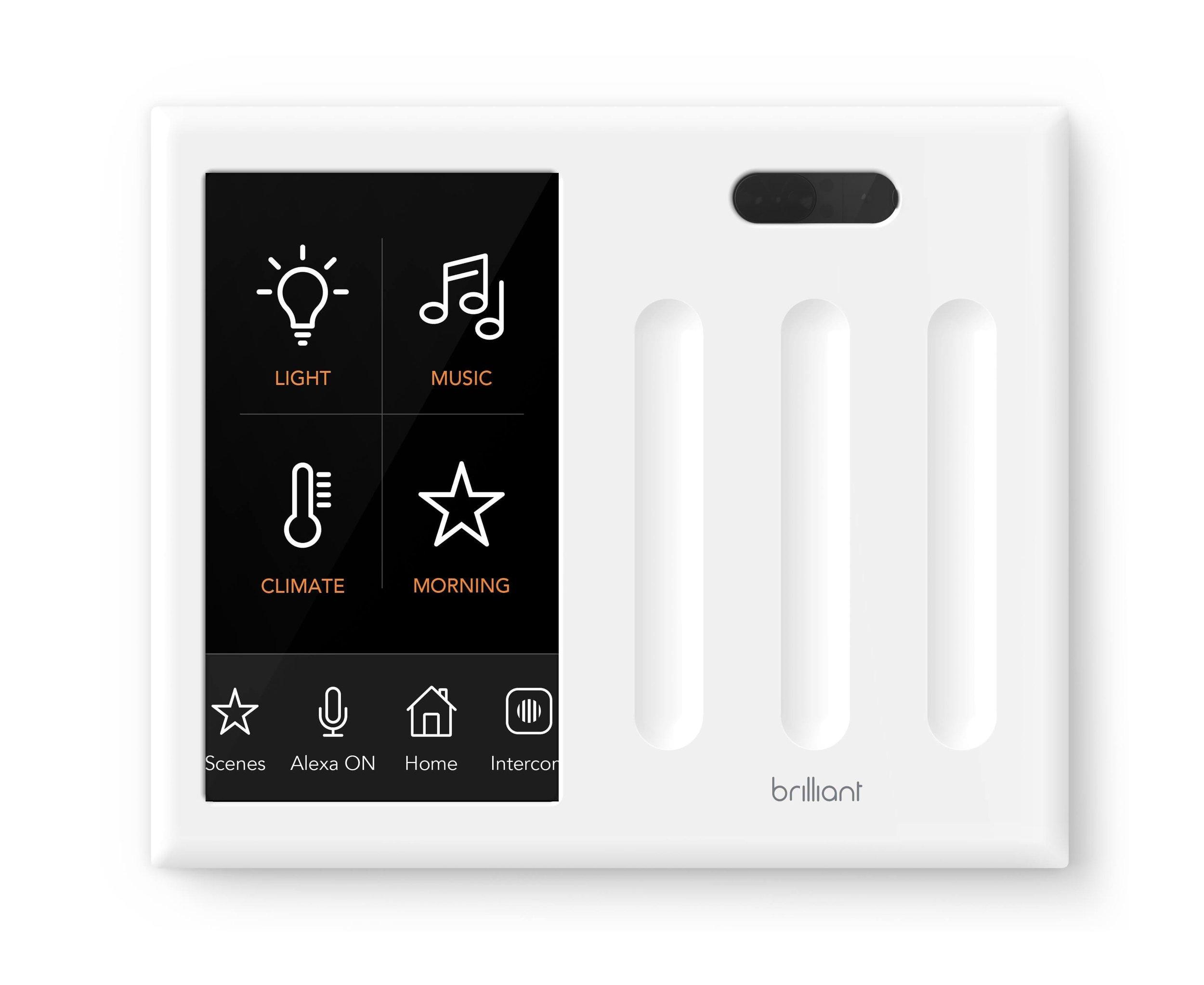 brilliant 3 light switch