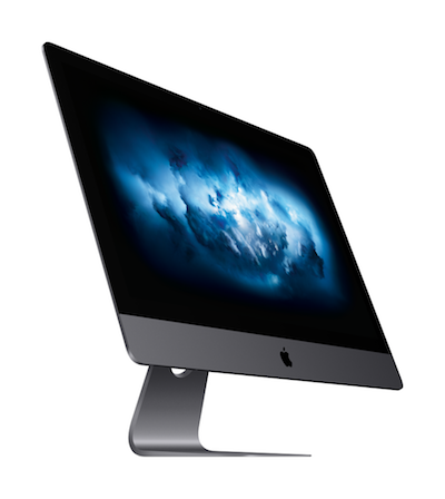 27-inch iMac Pro in Space gray