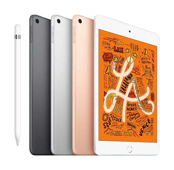Fifth-Generation iPad Mini now compatible with Apple Pencil