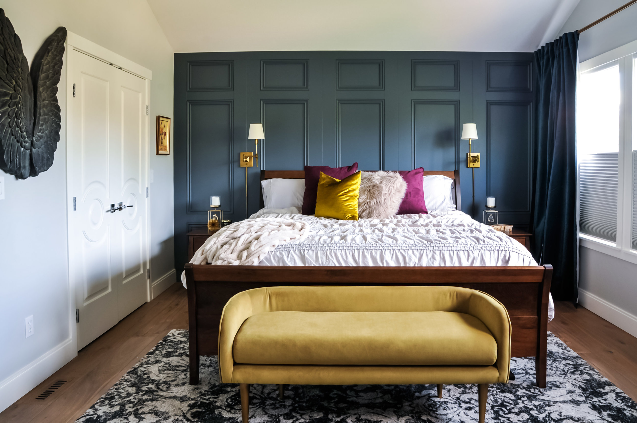 Benjamin moore paint Bedroom