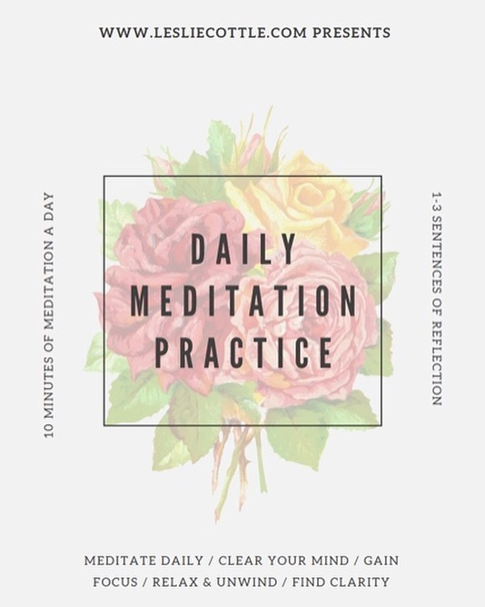 Need a meditation practice? Head to the site for your free download 😄🥳🔮 . . . #dailyjournal #meditation #whatgetsyouup #dailyinspo #meditation
